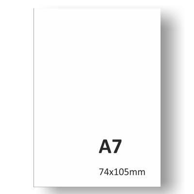 Levný ofsetový tisk letáků A7