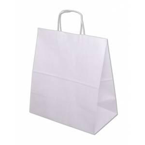 Papírové tašky EKO - bílé