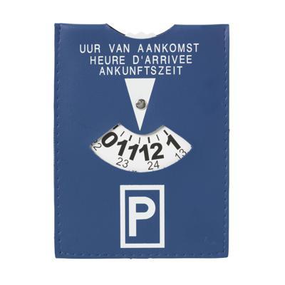 Parkovací kotouč z imitace kůže
