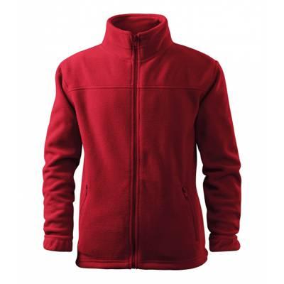 Vybraný textil z fleece materiálu a potiskem
