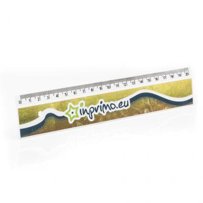 Pravítko 20cm s plnobarevným UV tiskem