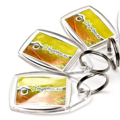 Akrylové přívěšky - klíčenky