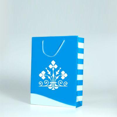 Papírová taška s potiskem a laminací velikost M