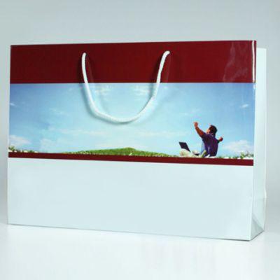 Papírová taška s potiskem a laminací velikost XL