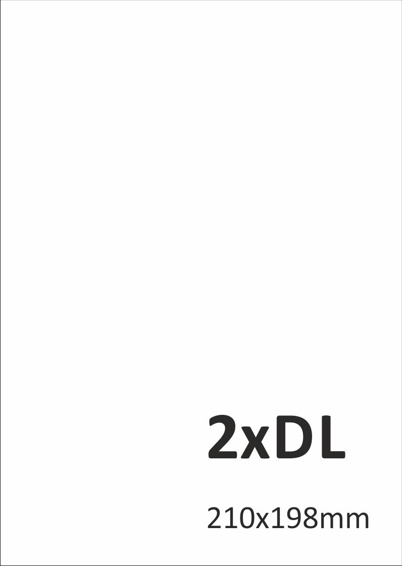 Levný tisk letáků 2xDL