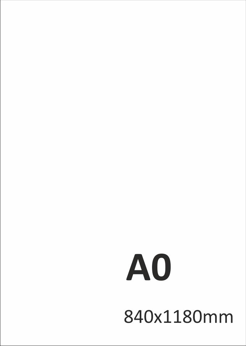 Levný tisk plakátů A0
