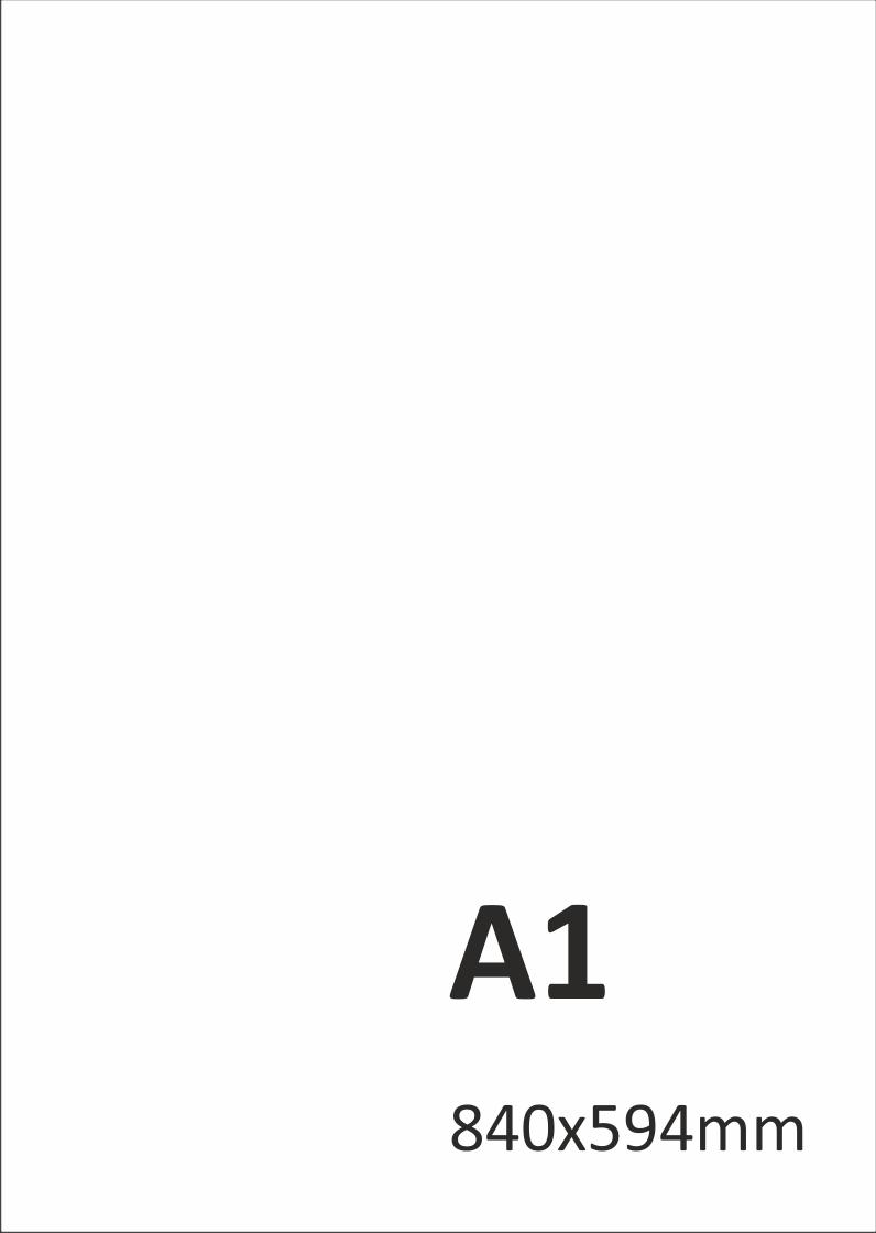 Levný tisk plakátů A1