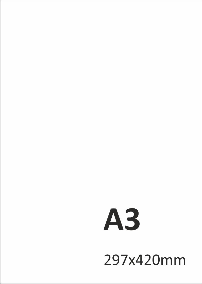 Levný tisk plakátů A3