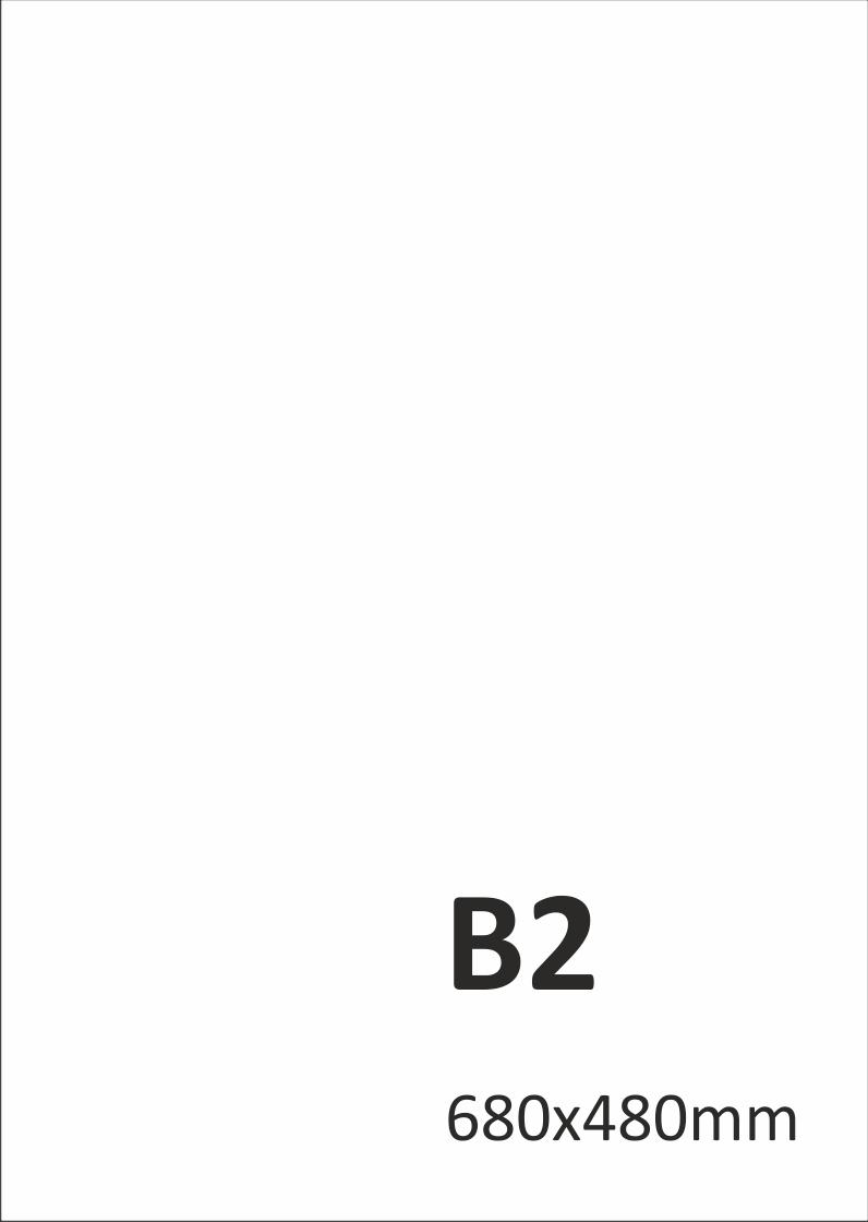 Levný tisk plakátů B2