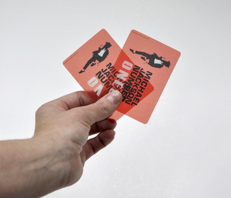 Karty PLASTIC - transparentní