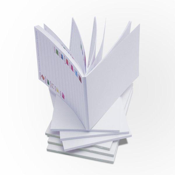 Tisk notesu s lepenou vazbou a vlastním potiskem