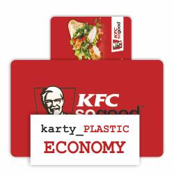 Plastové kreditní karty PLASTIC ECONOMY