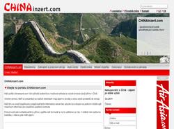 Inzertní redakční systém - Chinainzert