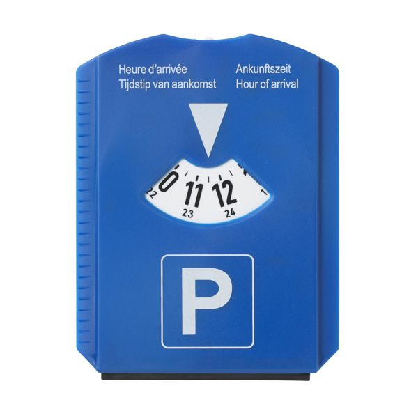 Parkovací hodiny s potiskem a doplňky