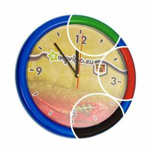 Reklamní hodiny s Vaší grafikou