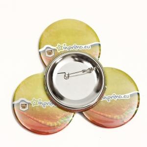 Placky - buttony NORIS s vlastním potiskem