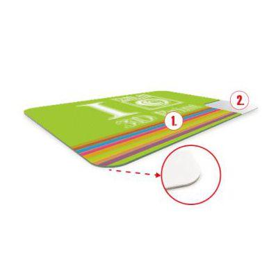 Podložka pod myš s 3D fólií - spodní část PĚNA PVC