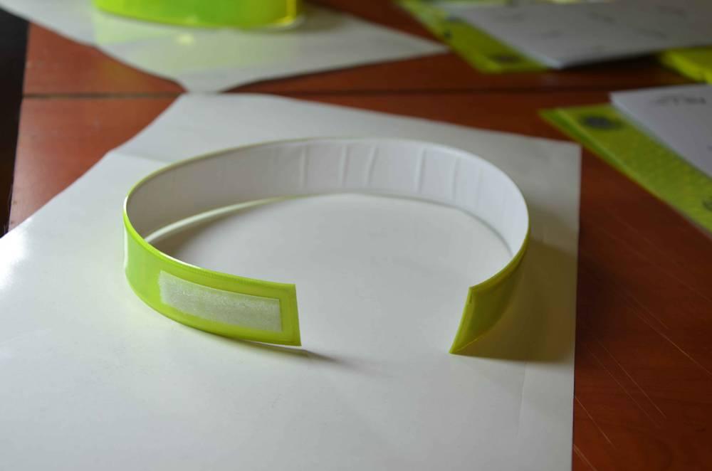 Reflexní pásky na suchý zip