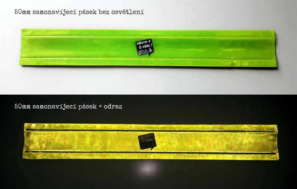 Reflexní pásky 50mm výška