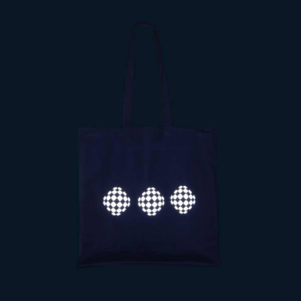 Reflexní nákupní taška - VELKÁ