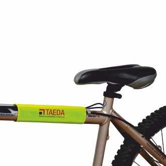 Reflexní rolky na suchý zip s potiskem