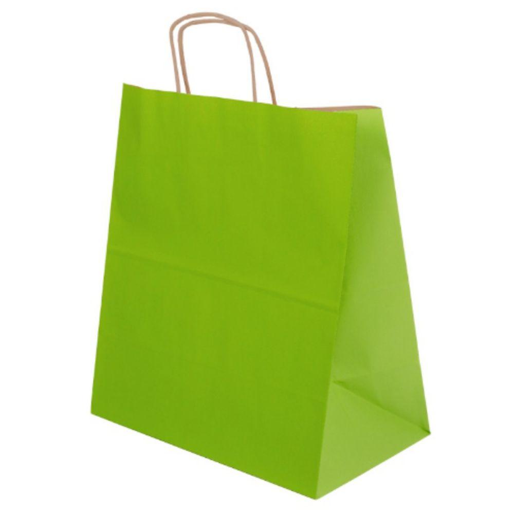 Papírové tašky EKO - barevné