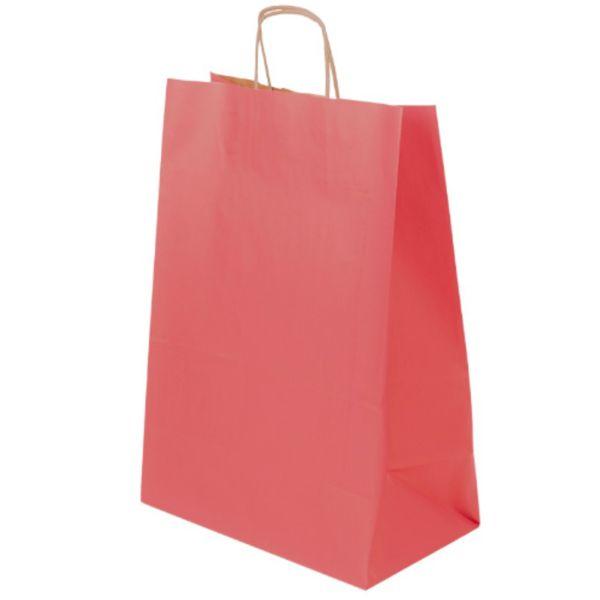 Papírová taška EKO - barevná s potiskem