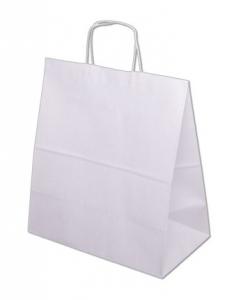 Papírová taška EKO - bílá
