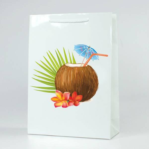 Papírová reklamní taška s laminací - kategorie L