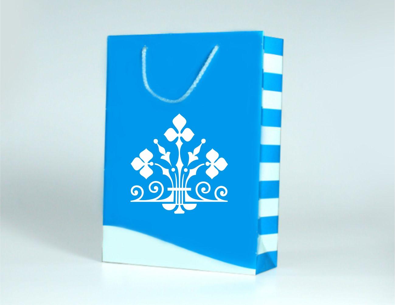 Papírová taška s laminací velikost M