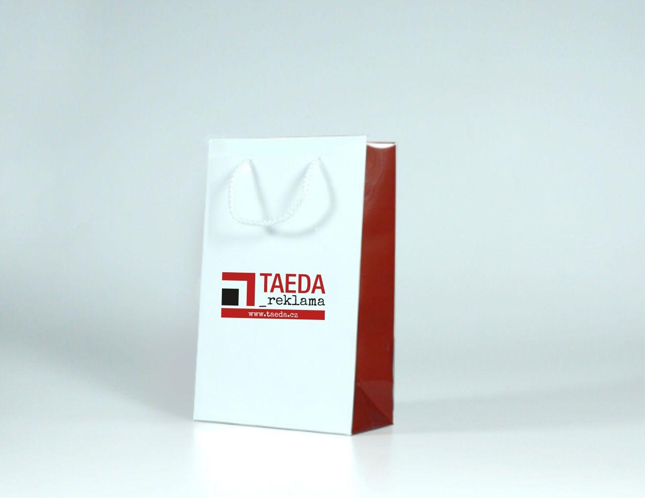 Papírová reklamní taška s laminací - kategorie S