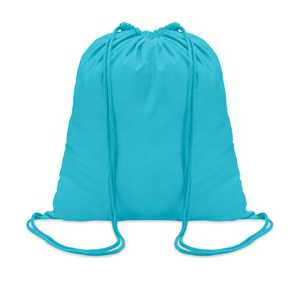 Barevný látkový batoh, bavlněný vak s vlastním potiskem