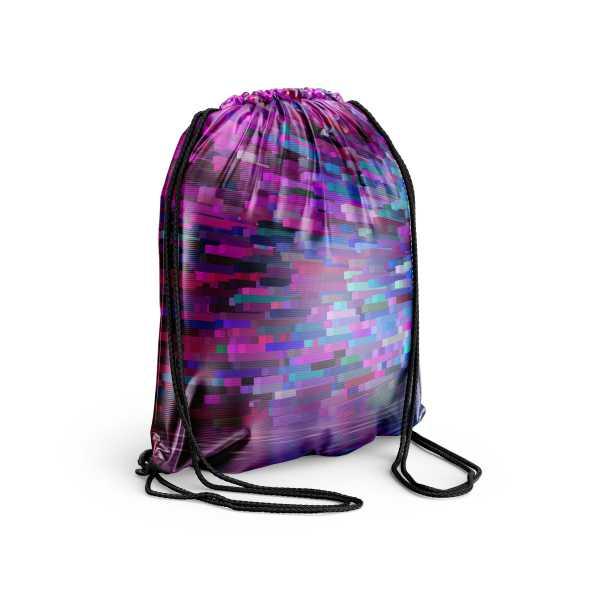 Designový textilní párty bag s celoplošným potiskem