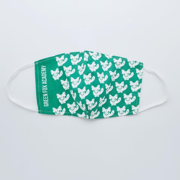 Textilní roušky s motivem GREEN FOX ACADEMY