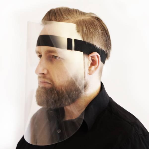 Ochranné celoobličejové štíty