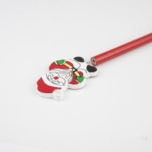 Ozdobná vánoční tužka SANTA s potiskem