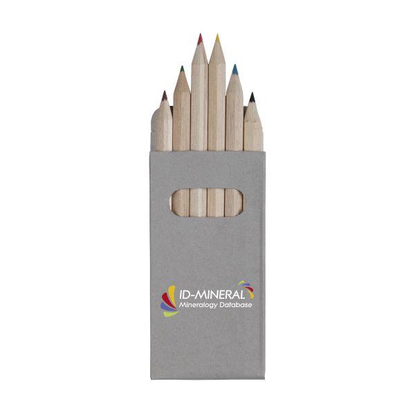 Barevné tužky COLOUR 6 s vlastním potiskem