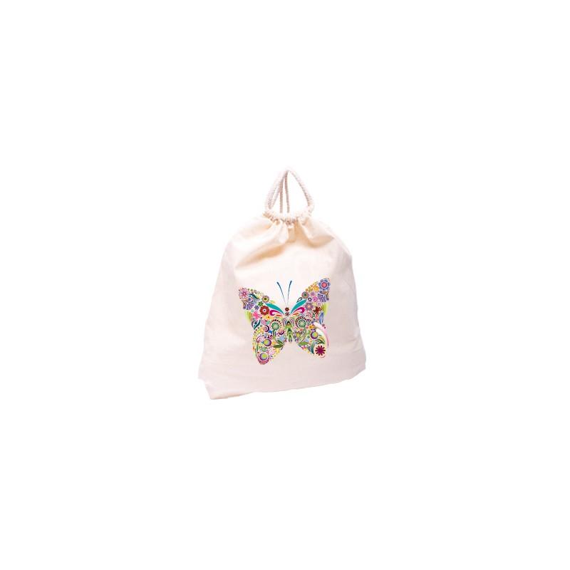 Textilní batoh s pllnobarevným potiskem
