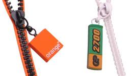 Logo elastomer - zipové šňůrky